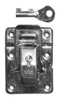 Qlinq Koffersluiting Slot Vernikkeld 45 x 32 mm