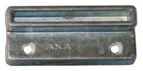 Qlinq Sluitkom Verzinkt Met Bocht 30 mm