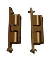 Qlinq Kogelsnapslot Messing 11 x 60 mm - 2 Stuks