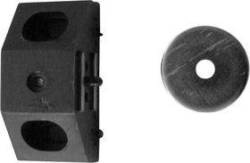 Magneetsnapslot Driehoek Bruin
