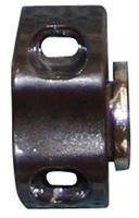 Qlinq Magneetsnapslot Driehoek Bruin - 2 Stuks