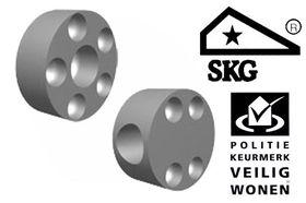 Secubar Steunen Aluminium In De Dag 2 Stuks