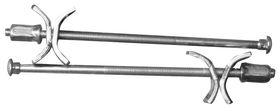 Qlinq Bladverbinder Verzinkt 5 x 120 mm - 2 Stuks