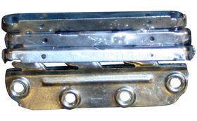Qlinq Ledikanthaak Verzinkt Set 130 x 30 mm