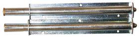 Buisplankdrager / draagvlak 180 mm / staal verzinkt