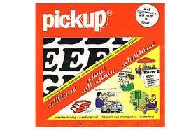 Pickup Letterassorti Cooper Liggend Zwart 25 mm