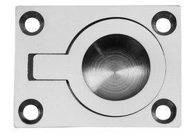 Qlinq Luikring Vernikkeld 50 x 38 mm