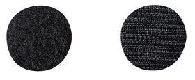 Qlinq Klittenband Zwart Ø 22 mm 16 Stuks