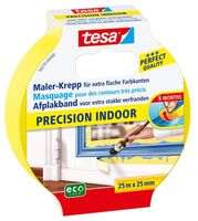 Tesa Afplaktape Precision Indoor 25 mm 25 Meter