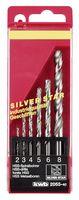 KWB Metaalborenset Silverstar 2-8 mm 6-Delig
