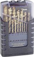 KWB Metaalborenset HSS Titan 1-10 mm 19-Delig