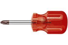 PB-Swiss Kruiskopschroevendraaier Stubby PH-0 30/75 mm