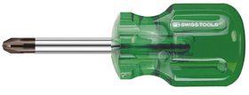 PB-Swiss Kruiskopschroevendraaier Stubby 30 mm
