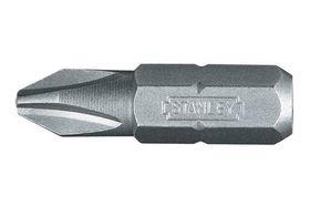 Stanley Bit Staal PH2 25 mm - 3 Stuks
