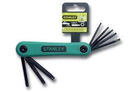 Stanley Stiftsleutelset Torx 9-40 mm 8-Delig