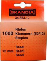 Skandia Nieten 12 mm 1000 Stuks