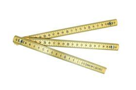 Metrica Duimstok Nylon Geel 1 Meter