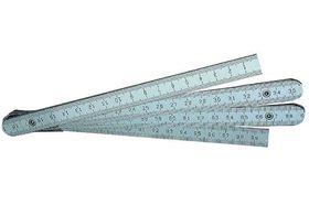 Schuil Duimstok Aluminium 1 Meter
