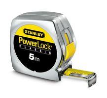 Stanley Rolbandmaat Powerlock Breed 5 Meter