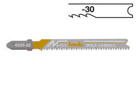 KWB Decoupeerzaagblad 6205-30 HSS 2 Stuks