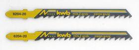 KWB Decoupeerzaagblad 6204-20 HCS 2 Stuks