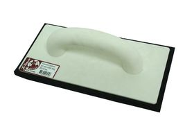 Melkmeisje Schuurbord Kunststof Zwart Rubber 280 x 140 mm