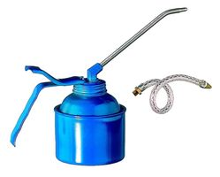 Pressol Oliekan Blauw Hamerslag 500 ml