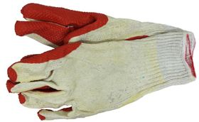 Skandia Werkhandschoenen Latex Oranje XXL 1 Paar
