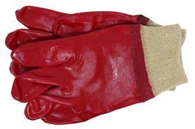 Skandia Werkhandschoen PVC Rood XXL 1 Paar