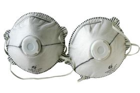 Skandia Stofmasker Carbon Met Ventiel FFP2 2 Stuks