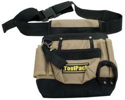 ToolPack Gereedschapgordel Polyester Met Houder 8-Vaks