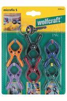Wolfcraft Veerklem 20 mm 6 Stuks