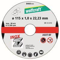 Wolfcraft Doorslijpschijf 8460 Ø 115 mm 3 Stuks