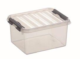Sunware Opbergbox Q-Line Transparant 2 Liter