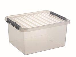 Sunware Opbergbox Q-Line Transparant 36 Liter
