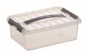 Sunware Opbergbox Q-Line Transparant 4 Liter