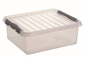 Sunware Opbergbox Q-Line Transparant 25 Liter