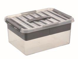 Sunware Multibox Q-Line Transparant 15 Liter
