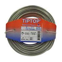 TipTop Staalkabel 100 R3N 20 Meter