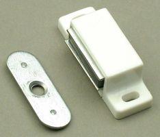 Magneetsnapslot Rechthoek Wit Metalen Sluitplaat