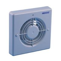Nedco Badkamer/Toiletventilator Ø 120 mm 25 Watt