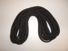 Elastisch Koord Zwart 12 Meter