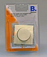 Berker Inbouwdimmer S1 Halogeen 500 Watt Crème