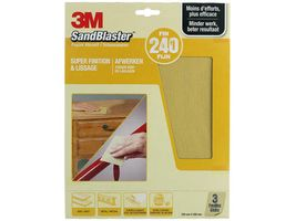 3M Schuurpapier SandBlaster P240 28 x 23 cm 3 Stuks