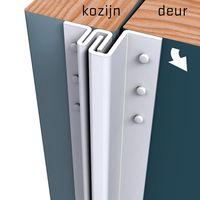 Secustrip Anti-Inbraakstrip Buitendraaiend Basic Wit - 4-6 mm