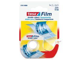 Tesa Dubbelzijdige Fototape Met Dispenser 12 mm 7.5 Meter