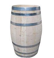Houten Regenton Kastanje - 150 Liter met Deksel
