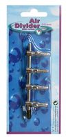 VT Verdeelkraan Metaal Switch 4-Way 4/6mm