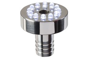 Garden Lights Waterornament Lamp Tabula Wit LED