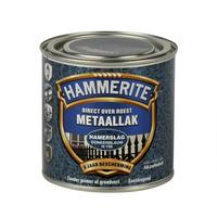 Hammerite Metaallak Hamerslag Donkerblauw H128 - 250 ml